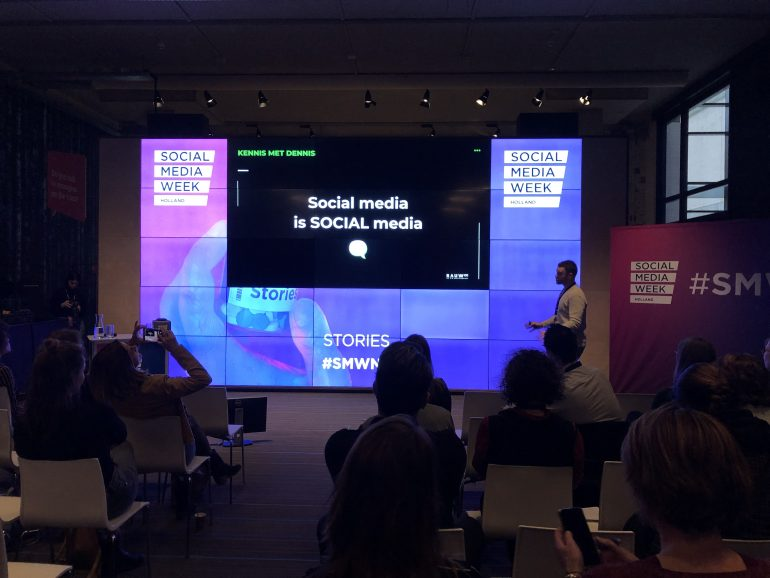 Dennis Social Media Week Holland - Frankwatching